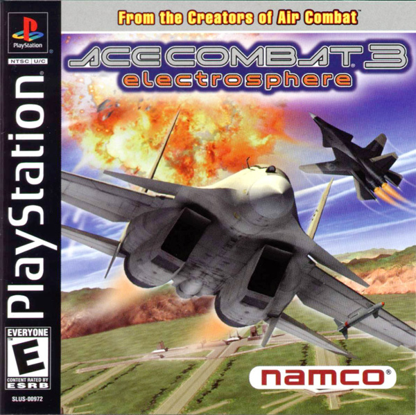 Ace Combat 3 - Electrosphere [U] Front Cover